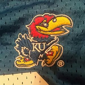 Bags - Kansas Jayhawks Sports Team Blue Hobo Bag